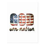 Una nación debajo de dios postal