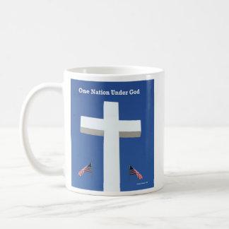 ¡Una nación debajo de dios! Taza De Café