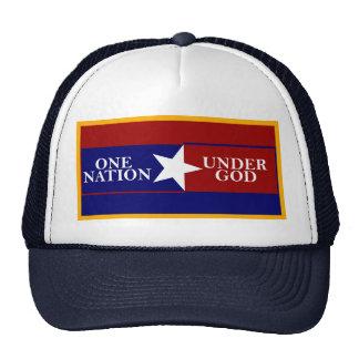 Una nación debajo del casquillo de la bola de dios gorras de camionero