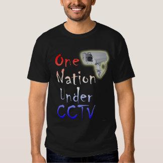 Una nación debajo del CCTV Playera