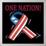Una nación poster