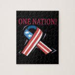 Una nación puzzles con fotos