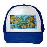 Una nadada pacífica en su cabeza gorras de camionero