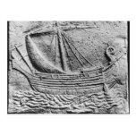 Una nave comercial fenicia en Sidon Postales