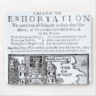 Una nave de Ould llamada un Exhortation Tapete De Ratón