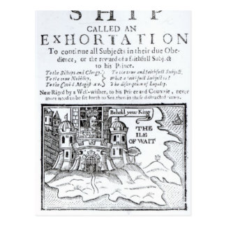 Una nave de Ould llamada un Exhortation Postales