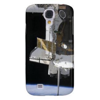 Una nave espacial atracada de Soyuz Samsung Galaxy S4 Cover