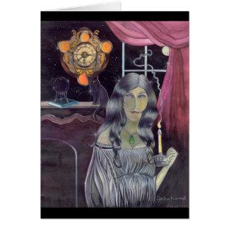 Una noche de Witchy Tarjeta De Felicitación