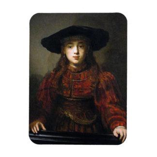Una novia judía - Rembrandt - 1641 Iman De Vinilo