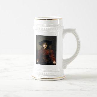 Una novia judía - Rembrandt - 1641 Taza
