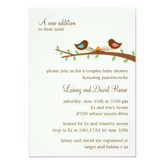 Una nueva invitación de la fiesta de bienvenida al invitación 12,7 x 17,8 cm