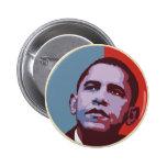 Una nueva mayoría - botón político de Obama