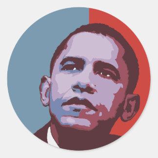 Una nueva mayoría - pegatina político de Obama