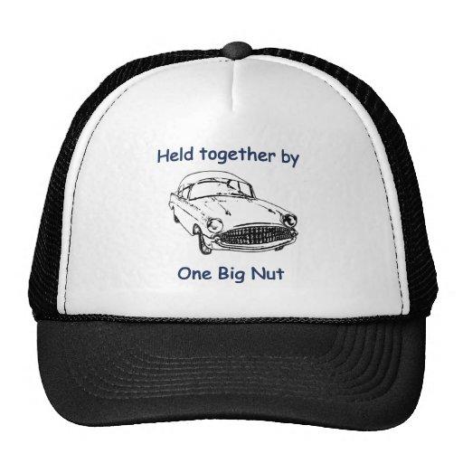 Una nuez grande gorras de camionero