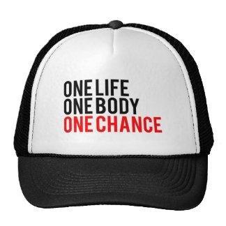 Una ocasión del cuerpo uno de la vida una gorras