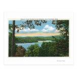 Una ojeada del lago Garfield Tarjetas Postales