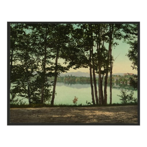 Una ojeada del lago mirror impresiones