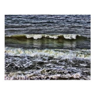 Una onda de la reflexión postal