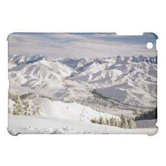 Una opinión de los esquiadores desde arriba de la