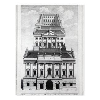 Una opinión de perspectiva del Banco de Inglaterra Tarjeta Postal