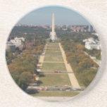 Una opinión del paisaje del Washington DC Posavaso Para Bebida
