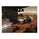 Una opinión del primer del brazo en Marte de la Fotografía