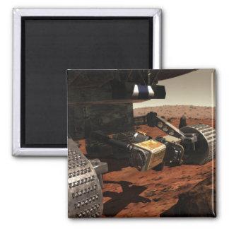 Una opinión del primer del brazo en Marte de la Imán Cuadrado