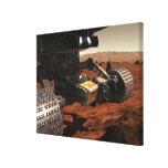 Una opinión del primer del brazo en Marte de la Lienzo Envuelto Para Galerias