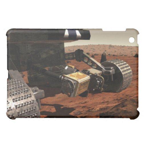Una opinión del primer del brazo en Marte de la NA