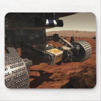 Una opinión del primer del brazo en Marte de la NA Tapetes De Ratones