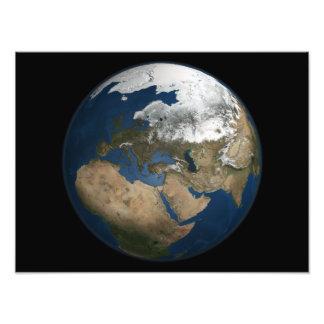 Una opinión global sobre Europa y Escandinavia Impresion Fotografica