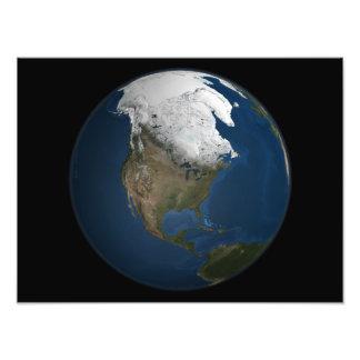 Una opinión global sobre Norteamérica Fotografía