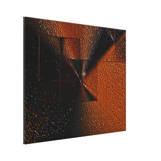 UNA OSCURIDAD PENETRANTE   (647)   28 x 35 Impresion De Lienzo