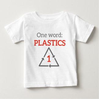 Una palabra: Plásticos Playera De Bebé