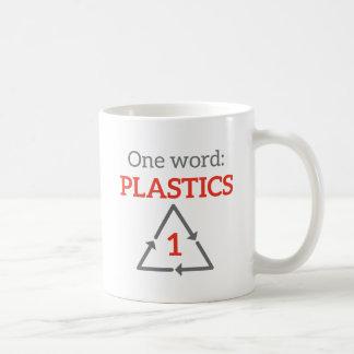 Una palabra: Plásticos Taza De Café