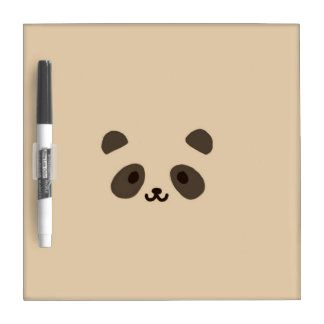 Una panda linda pizarras