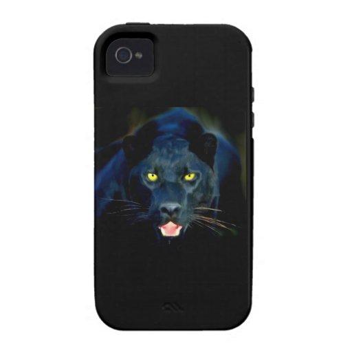 Una pantera negra iPhone 4 carcasas