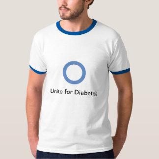 Una para la camiseta de la diabetes