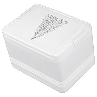 Una parte del pi refrigerador igloo