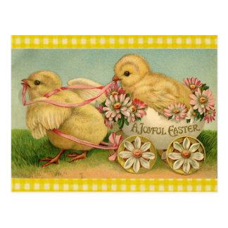 Una Pascua alegre Postales