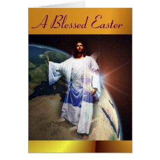 Una Pascua bendecida Felicitacion