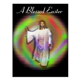 Una Pascua bendecida Tarjetas Postales