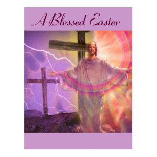 Una Pascua bendecida Postales