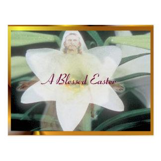 Una Pascua bendecida Postal