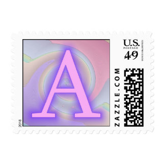 Una pasión de la púrpura del monograma