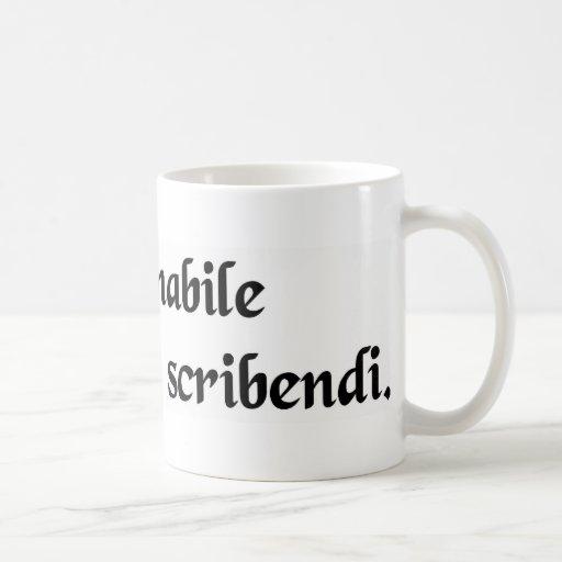 Una pasión incurable a escribir taza