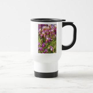 Una pasión para la púrpura taza de café