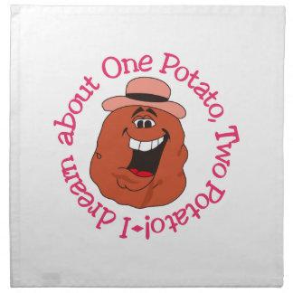Una patata de la patata dos servilleta