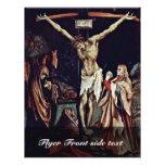 Una pequeña crucifixión: Cristo en la cruz, mag de Tarjeta Publicitaria