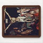 Una pequeña crucifixión: Cristo en la cruz, mag de Tapetes De Raton